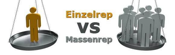 einzelrep-vs-massenrep